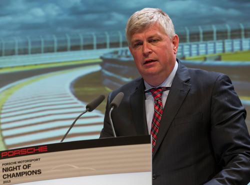 Posche Motorsport in der Saison 2014: Wolfgang Hatz.