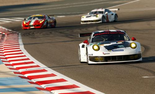 tPosche Motorsport in der Saison 2014: Porsche 911 RSR, Porsche AG Team Manthey: Joerg Bergmeister, Patrick Pile.