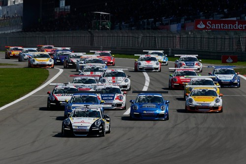 Posche Motorsport in der Saison 2014: Porsche Cup.