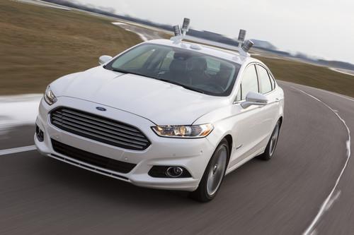 Ford-Forschungsfahrzeug auf Basis des Fusion Hybrid.