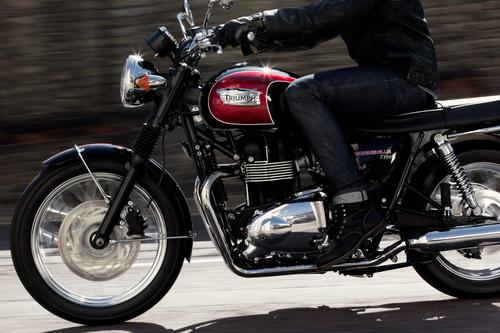 Motorradfahrt.