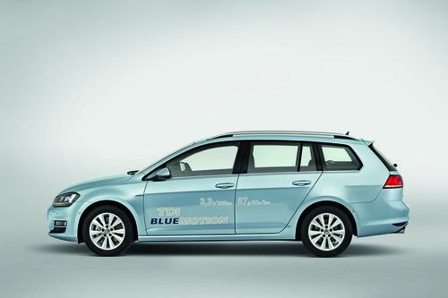 Volkswagen Golf Variant TDI Blue Motion.