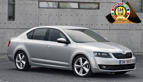 """Der Skoda Octavia ist einer von sieben Kandidaten für den Titel """"Car of the Year 2014""""."""