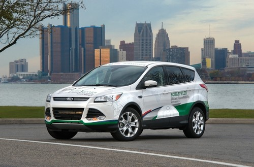 Schaeffler`s Demonstrationsfahrzeug Efficient Future Mobility North America auf Basis des Ford Escape (Kuga)..