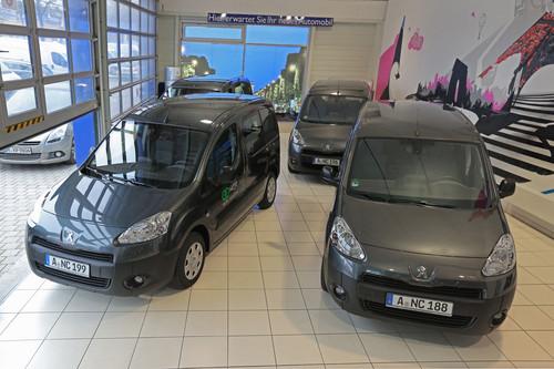 Peugeot liefert 65 Partner an NCR.