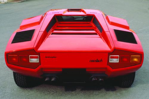 Lamborghini Countach LP 400 (1973 - 1981).