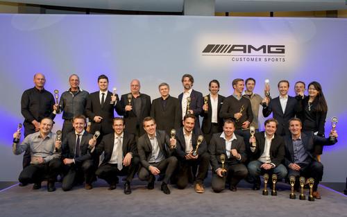 Mercedes AMG-Kundensport 2013: Überaus erfolgreiche Saison 2013 für AMG Kundensport: Vier Titel und 38 Siege für den SLS AMG GT3.