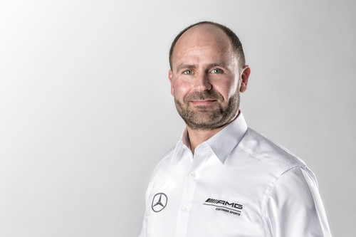 Jochen Bitzer neuer Leiter AMG-Kundensport.