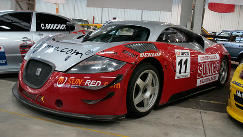 Den Seat Cupra GT befeuerte ein Lamborghini-Motor.