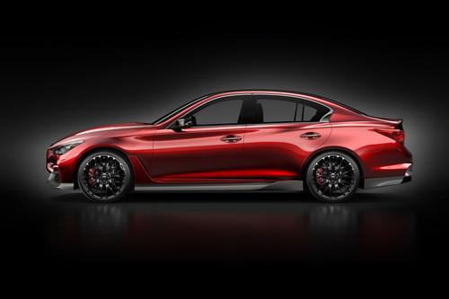 Infiniti Q50 Eau Rouge Concept.