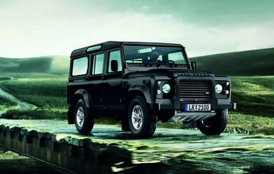 "Land Rover Defender ""Experience""."