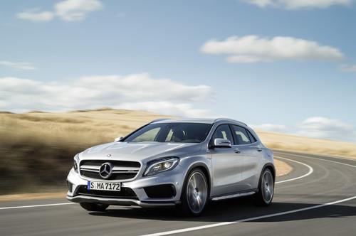 Mercedes-Benz GLA 45 AMG.