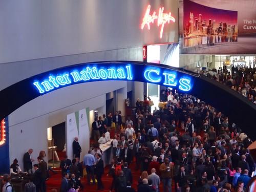 Consumer Electronics Show in Las Vegas.