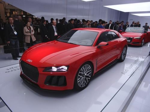 Audi Quattro Sport Laser Light Concept.