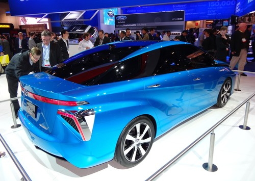 Brennstoffzellen-Studie Toyota FCV.