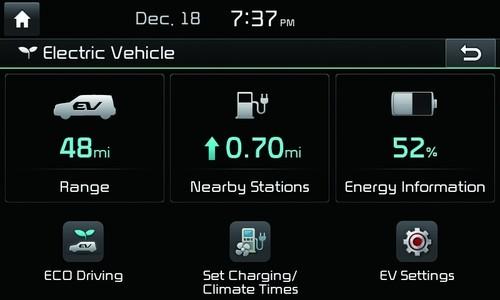 Auf der CES demonstriert Kia eine erweiterte Variante seiner UVO-Smartphone-App mit Telematikfunktionen, die speziell für Elektrofahrzeuge entwickelt wurden.