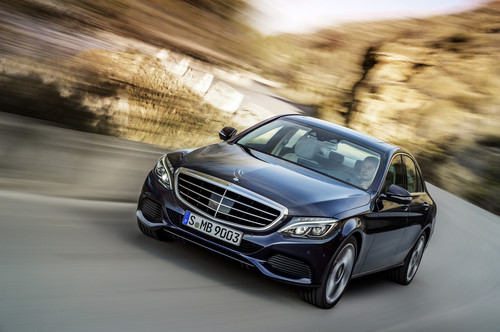 Mercedes-Benz C 300 Bluetec Hybrid.