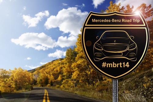 Der Merecedes-Benz-Roadtrip mit der C-Klasse lässt sich unter dem Hashtag #mbrt14 verfolgen.