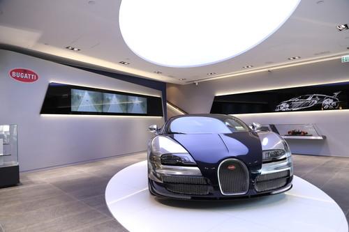 Bugatti in Hong Kong.