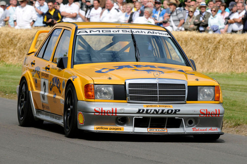 Mercedes-Benz 190 E 2.5 EVO II 2011 in Goodwood beim Festival of Speed.