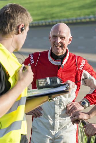 Opel-Motorsportdirektor Volker Strycek war einer der Rekordfahrer.