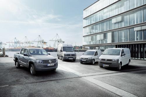 Die Nutzfahrzeuge von Volkswagen.