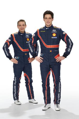 Hyundai bei der WRC: Nicolas Gilsoul und Thierry Neuville.