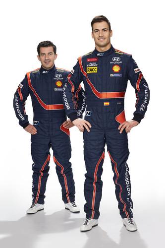 Hyundai bei der WRC: Marc Marti und Dani Sordo.
