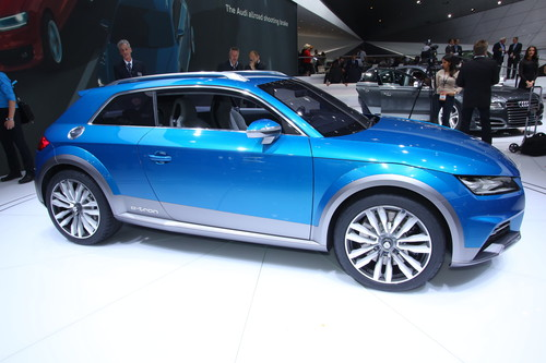 Audi Allroad Shooting Brake.