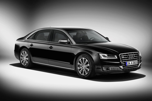 Audi A8 L Security.