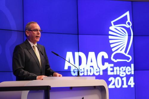 "Preisverleihung ""Gelber Engel"": ADAC-Präsident Peter Meyer."