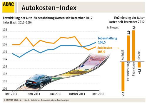 Autokosten-Index 2013.