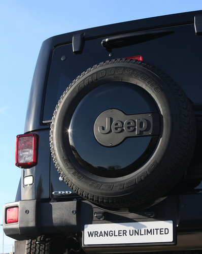 "Jeep Wrangler Unlimited ""Indian Summer""."