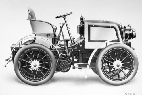 Daimler Phoenix 28 PS Rennwagen.