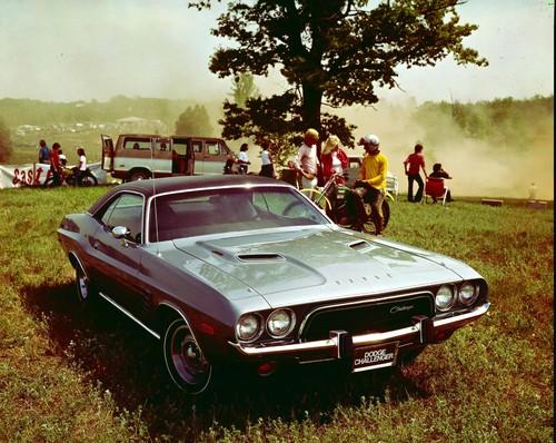 Dodge Challenger von 1973.