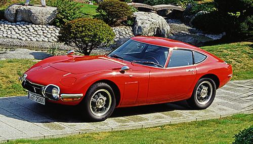 Toyota  2000 GT von 1965.