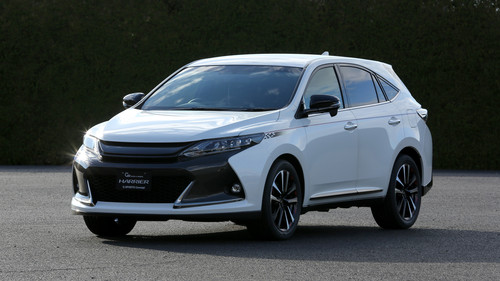 Toyota Harrier G Sports Concept.