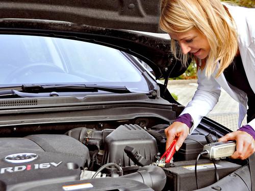 Batterieladegeräte sorgen für stets ausreichend Strom.