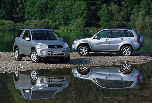 Toyota RAV4 (2000 - 2006).