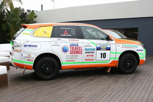 Mitsubishi Outlander PHEV Rally.