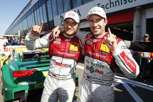 Timo Scheider und Mike Rockenfeller.