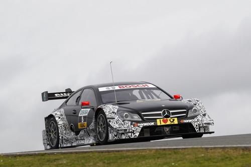 Vitaly Petrov im DTM Mercedes AMG C-Coupé.