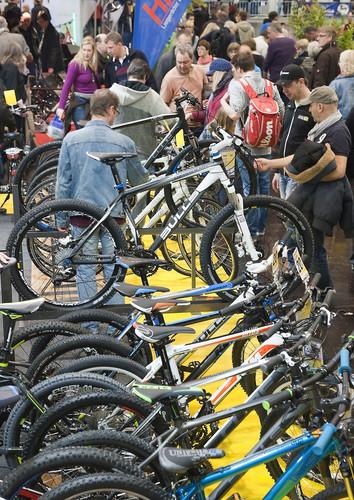 "Messe ""Fahrrad Essen""."
