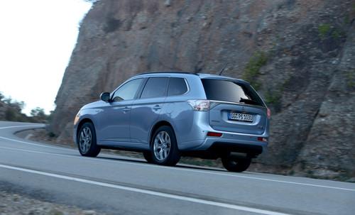 Mitsubishi Outlander PHEV.