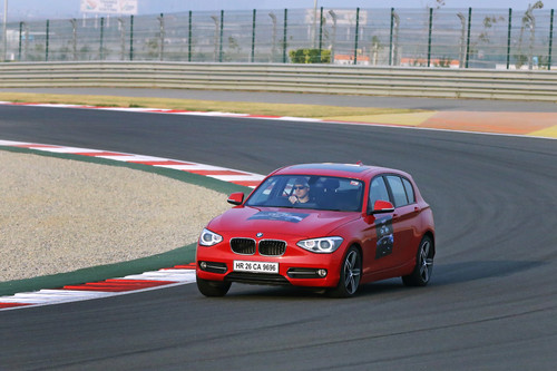 """NDTV Car of the Year""-Awards: BMW 1er im Test."