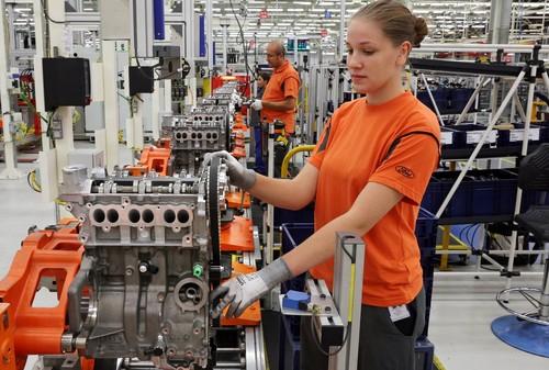 Bei Ford in Köln ist der 250 000ste 1,0-Liter-Ecoboost-Motor vom Band gelaufen.
