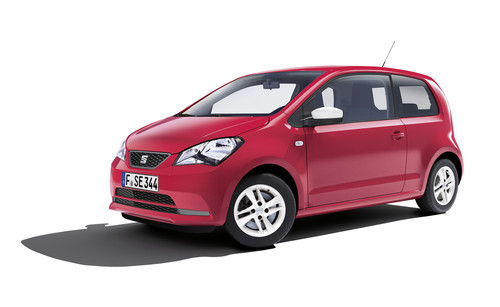 Seat Mii Edition Red.