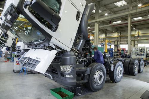 Custom Tailored Trucks (CTT) bei Mercedes-Benz.