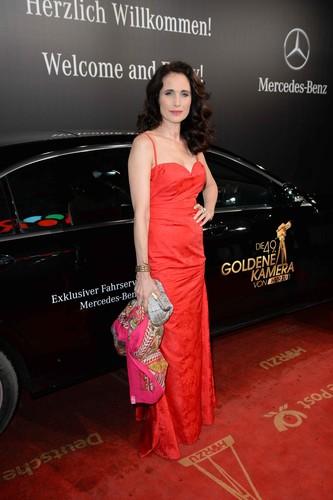 """Verleihung der """"Goldenen Kamera"""": Andie MacDowell,"""