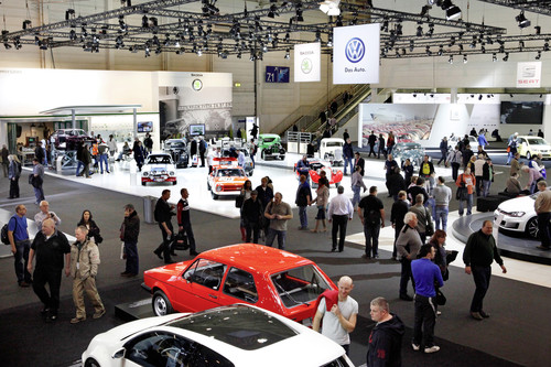Techno Classica in Essen.